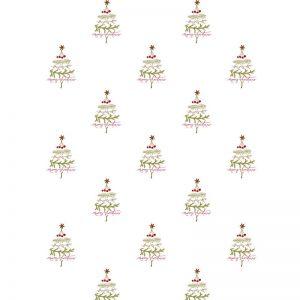 Gavepapir M/juletræer 2 M