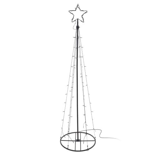 Juletræ med LED-lys