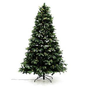 Nordic Winter juletræ med lys