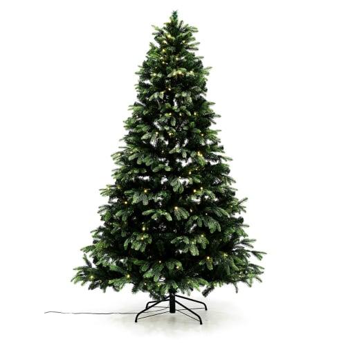 Nordic Winter juletræ med lys - H 150 cm