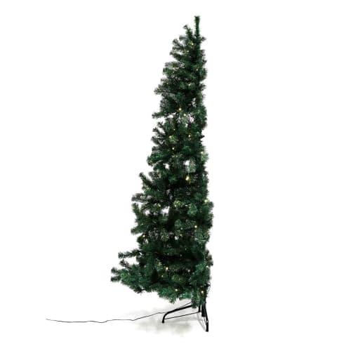 Nordic Winter pladsbesparende juletræ med lys - 180 cm