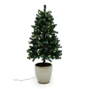 Nordic Winter udendørs juletræ med lys