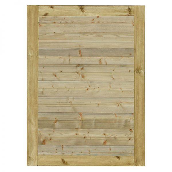 Plus Plank Enkeltlåge Trykimprægneret 100x125 Cm Vendbar