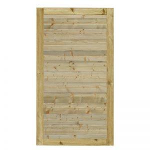 Plus Plank Enkeltlåge Trykimprægneret 100x163 Cm Vendbar
