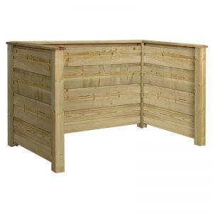 Plus Plank Profil Renovationsskjul 194x97x108 Cm Trykimprægneret