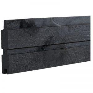 Plus Plank Profilbræt 25x140 Mm X 177 Cm Trykimprægneret/sort
