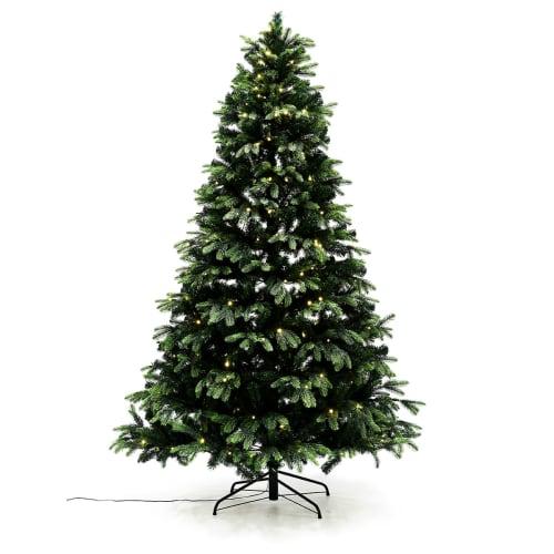 Nordic Winter kunstigt juletræ med lys - Mix - H 180 cm