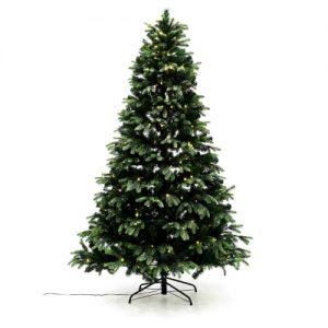 Nordic Winter kunstigt juletræ med lys - Mix - H 210 cm
