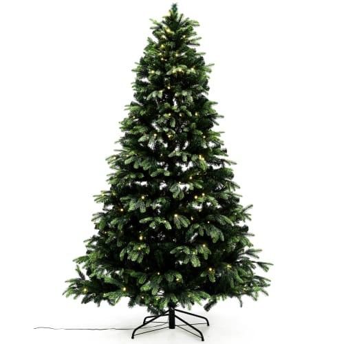 Nordic Winter kunstigt juletræ med lys - H 260 cm