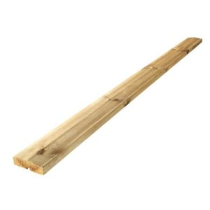 Plus Klink/Plank topafslutning 200cm trykimprægneret