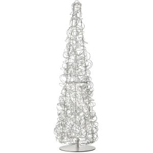 Sompex juletræ med lys - Curly - H 100 cm